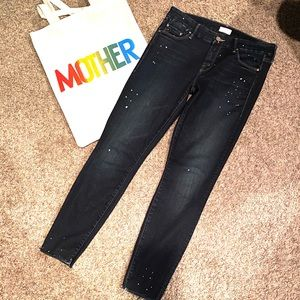MOTHER ankle cut jeans